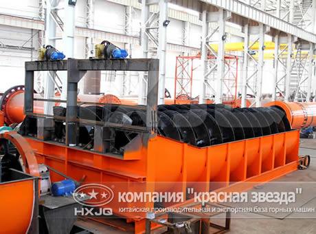 Спиральный классификатор в Сургут молотковой дробилки в Новомосковск
